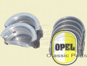 Crankshaft bearings oversize 0,25mm set Rekord 1954-57 P1 P2 A Kapitän 1954-57 P2,5 P2,6 Kapitän Admiral A Blitz 1,9T