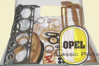 Engine gasket set incl. carburator gasket set Rekord 1954-57 1,5L