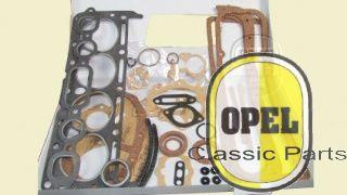 Engine gasket set incl. carburator gasket set Rekord P1/P2 1958-62 1,5L
