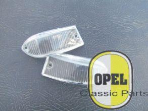 Knipperlichtglas wit voor set L+R Kadett A 1963-65
