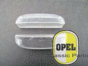 Knipperlichtglas wit SWF set L+R Oly A Kadett C Manta A 1967-75