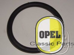 Rubber ophanging achter uitlaatpot of eindpijp Kadett B Oly A 1966-72 1,0/1/2L