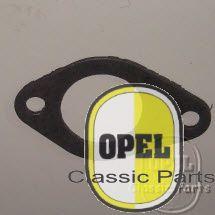 Pakking carburator tussen beschermplaat en inlaatspruitstuk Rek P2 A Kap P2,6 Kap Adm A 1959-65 1,7S/2,5/6L