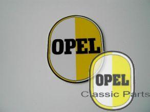 Opel Zeichen Schild Ei Motiv