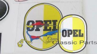 Aufkleber Opel Ei mit Roadrunner