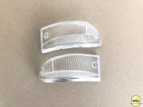 Lens white signal lamp front L+R Kadett A 1963-65
