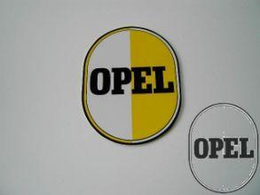 Opel sign plate egg motive