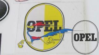 Sticker Opel Egg with roadrunner