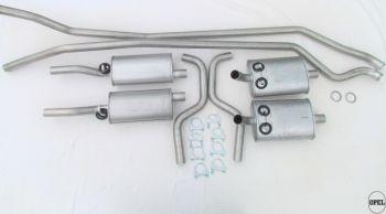 Exhaust system Diplomat B 1969-76 5,4L